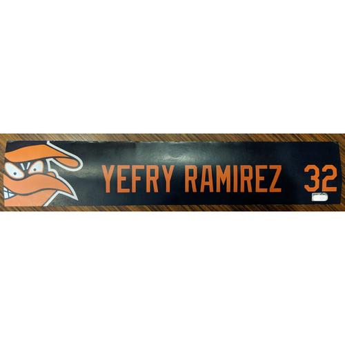 Photo of Yefry Ramirez #32 - Locker Tag: Team-Issued