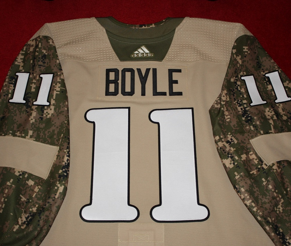 Brian Boyle Military Appreciation Autographed Camo Warm-Up Jersey - New  Jersey Devils 32c085bcf