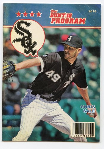 Photo of 2016 Topps Bunt Programs #P22 Chris Sale