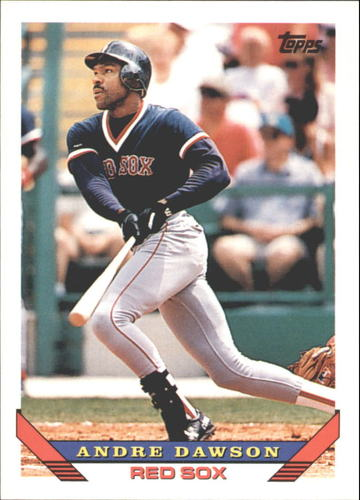 Photo of 1993 Topps Traded #92T Andre Dawson