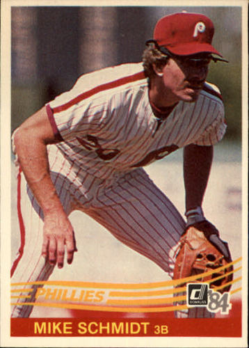 Photo of 1984 Donruss #183 Mike Schmidt