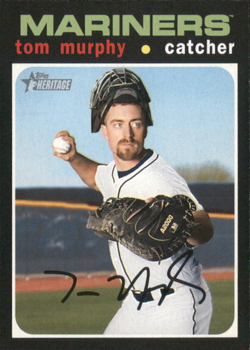 Photo of 2020 Topps Heritage #11 Tom Murphy