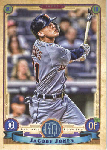 Photo of 2019 Topps Gypsy Queen #7 JaCoby Jones