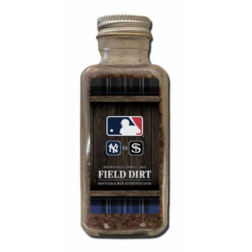 Photo of Game-Used Dirt Jar - 2021 MLB at Field of Dreams Park
