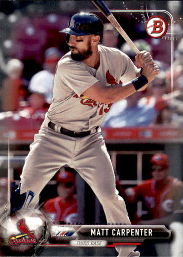 Photo of 2017 Bowman #8 Matt Carpenter