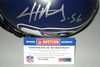 NFL - SEAHAWKS CLIFF AVRIL SIGNED SEAHAWKS PROLINE HELMET