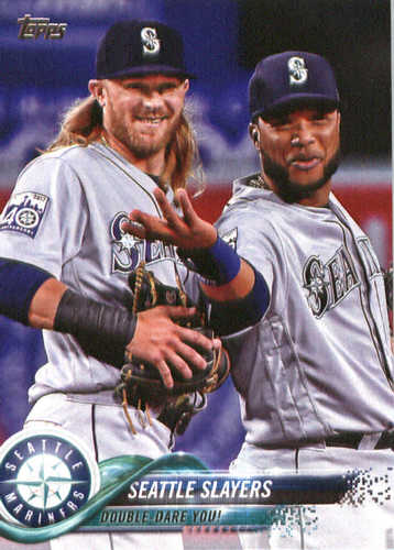 Photo of 2018 Topps #205 Seattle Slayers/Robinson Cano/Kyle Seager
