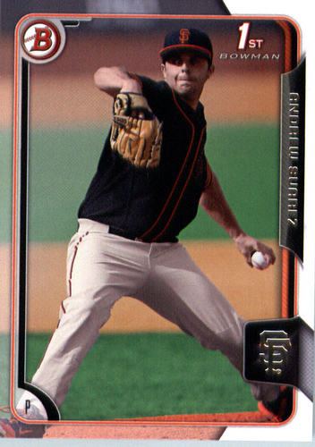 Photo of 2015 Bowman Draft #170 Andrew Suarez