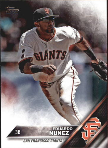 Photo of 2016 Topps Update #US140 Eduardo Nunez