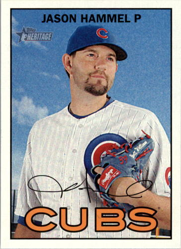 Photo of 2016 Topps Heritage #52 Jason Hammel