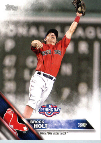 Photo of 2016 Topps Opening Day #OD103 Brock Holt