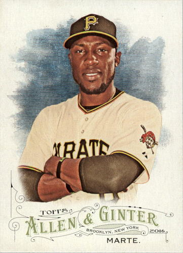 Photo of 2016 Topps Allen and Ginter #256 Starling Marte
