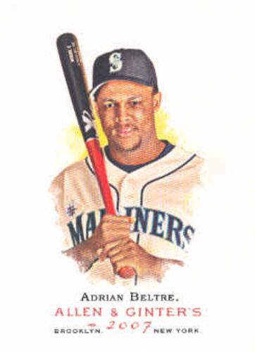 Photo of 2007 Topps Allen and Ginter #296 Adrian Beltre