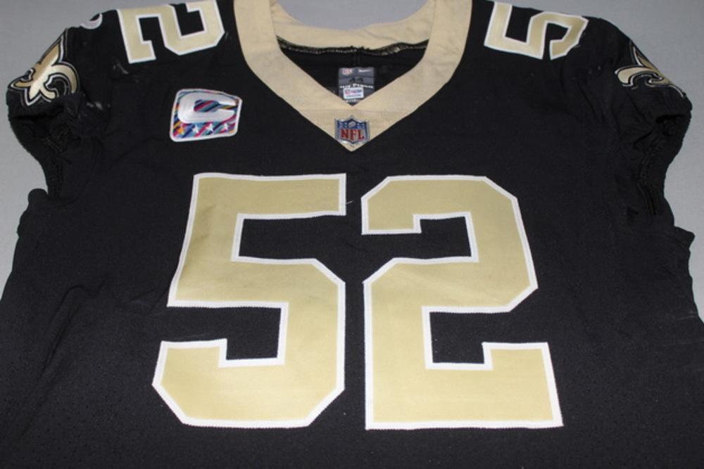 NFL Auction   Crucial Catch - Saints Craig Robertson game worn ...