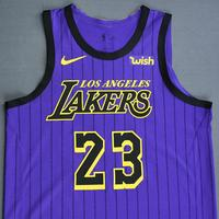 LeBron James - Los Angeles Lakers - Christmas Day' 18 - Game-Worn City Edition Jersey - Triple-Double and Double-Double - Worn in 2 Games