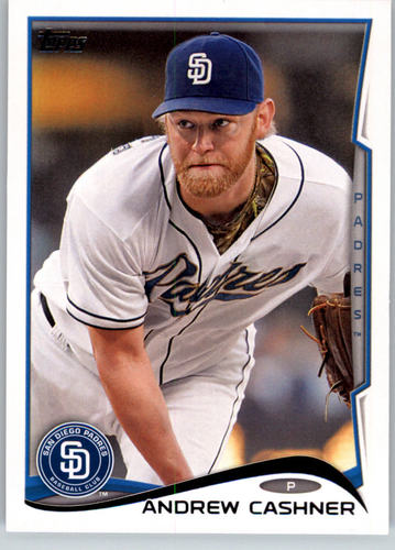 Photo of 2014 Topps #227 Andrew Cashner