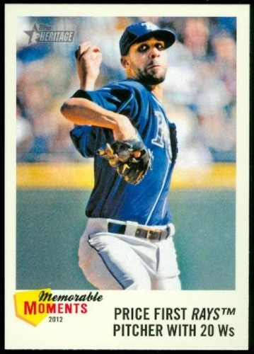 Photo of 2013 Topps Heritage Memorable Moments #DP David Price