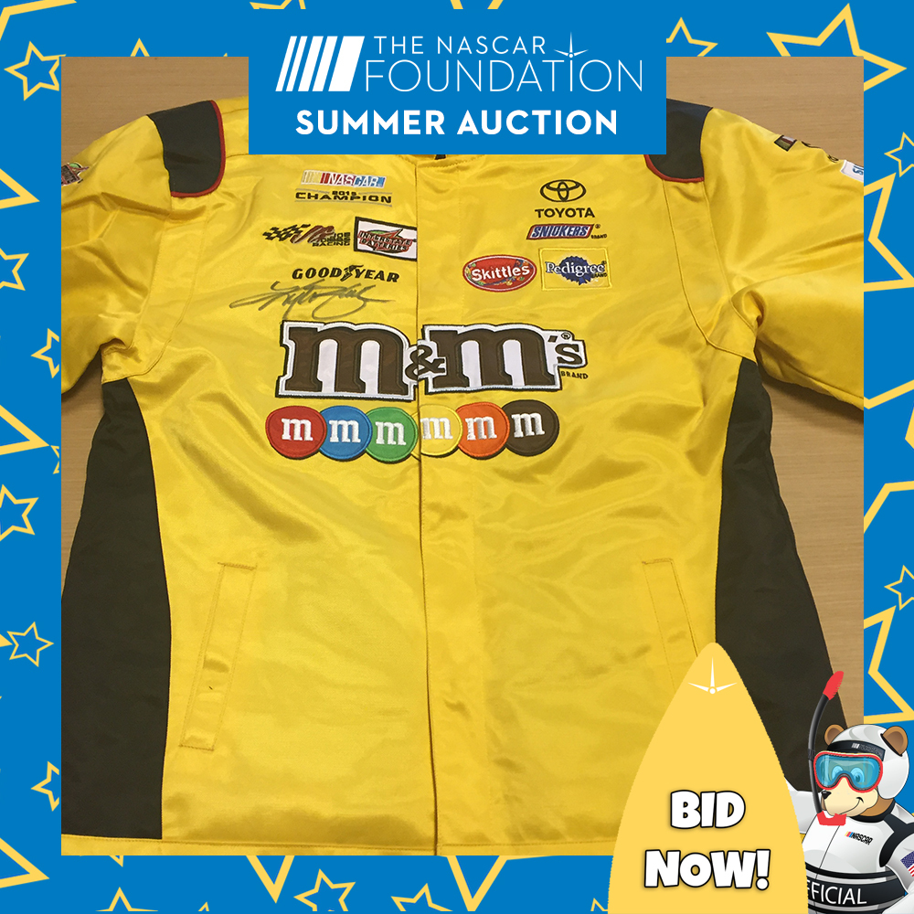 Kyle Busch Autographed Replica Uniform Jacket