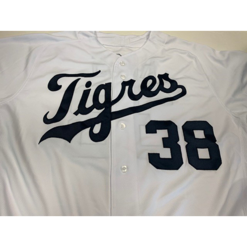 Photo of Team-Issued Fiesta Tigers Jersey: Tyson Ross