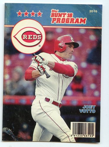 Photo of 2016 Topps Bunt Programs #P23 Joey Votto