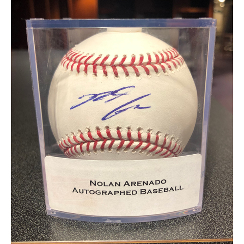 Photo of Colorado Rockies Autographed Baseball: Nolan Arenado