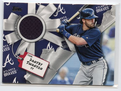 Photo of 2019 Topps Walmart Holiday Relics #WHRDSW Dansby Swanson