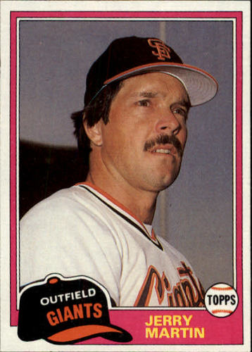 Photo of 1981 Topps Traded #798 Jerry Martin