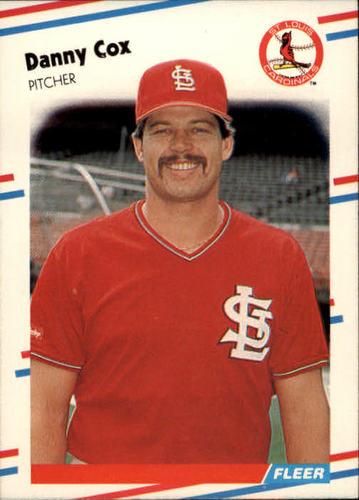 Photo of 1988 Fleer #28 Danny Cox