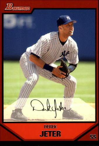 Photo of 2007 Bowman #90 Derek Jeter