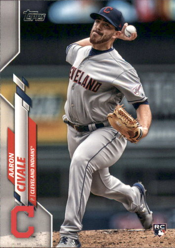 Photo of 2020 Topps #223 Aaron Civale RC