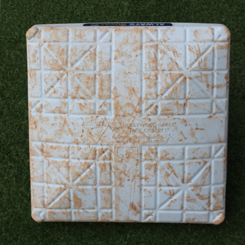Photo of Game-Used 2nd Base: (Innings 1-5 - NYM @ KC - 8/17/19)