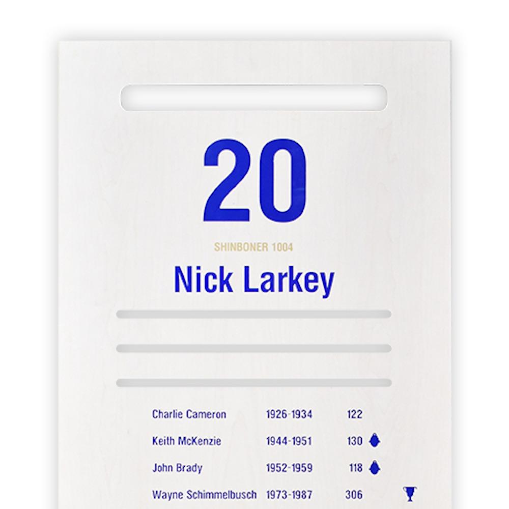 North Melbourne Arden Street Official Locker door #20