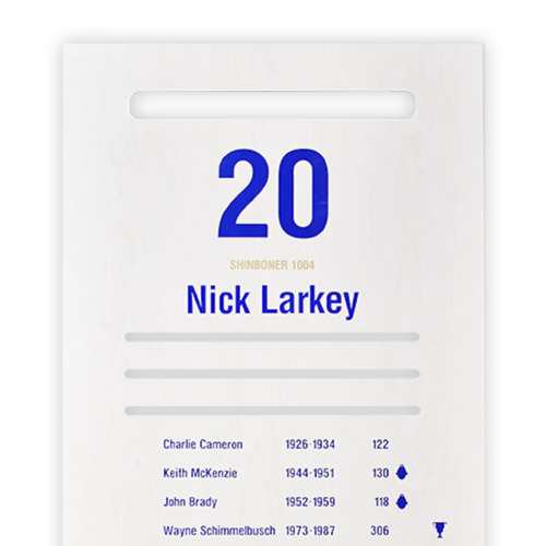 Photo of North Melbourne Arden Street Official Locker door #20