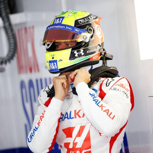 Photo of Mick Schumacher 2021 Signed Race Used Race Suit - US GP