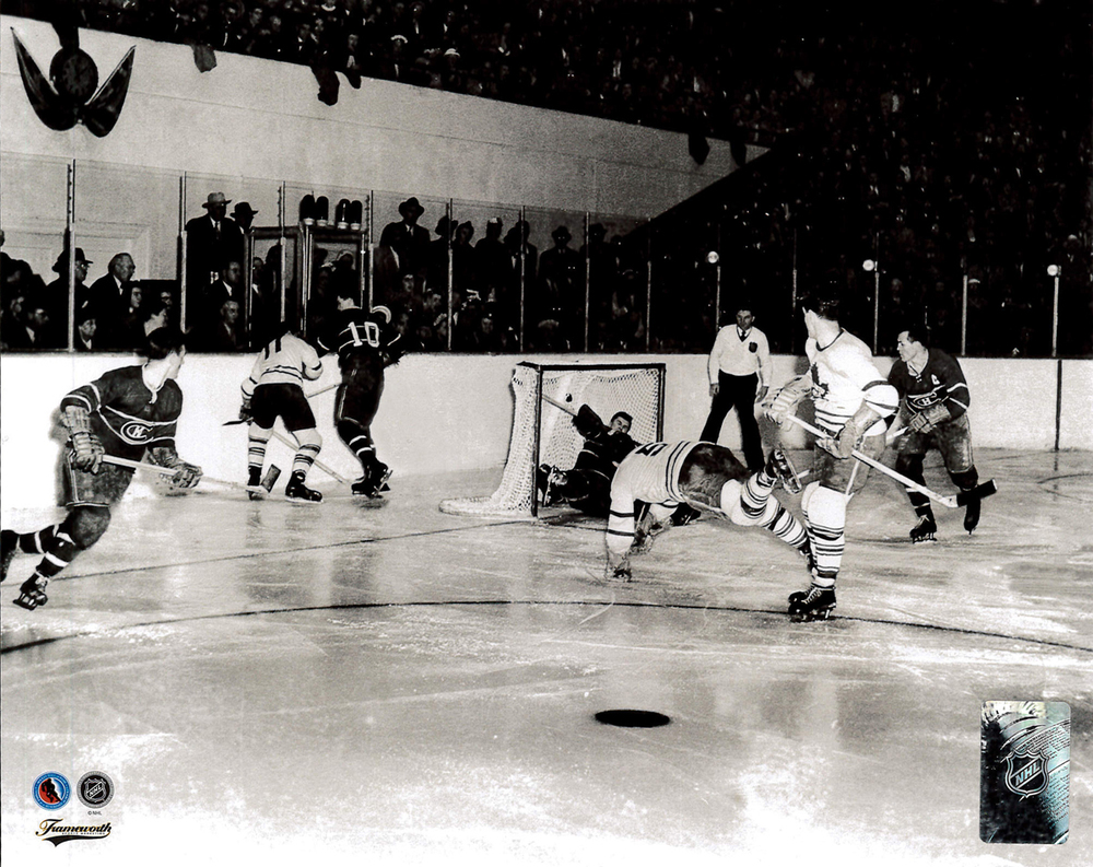 a58c7f8e8 Bill Barilko Toronto Maple Leafs 1951 Stanley Cup Game Winning Goal Hockey  Hall Of Fame Collection 8x10 Photo