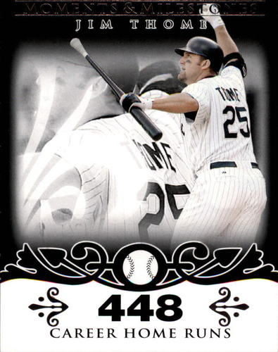 Photo of 2008 Topps Moments and Milestones Black #85-448 Jim Thome