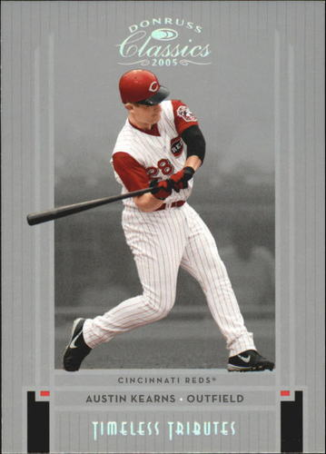 Photo of 2005 Donruss Classics Timeless Tributes Silver #28 Austin Kearns