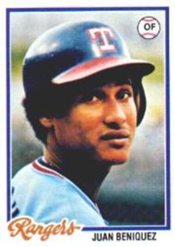 Photo of 1978 Topps #238 Juan Beniquez