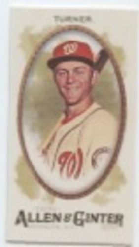 Photo of 2017 Topps Allen and Ginter Mini #255 Trea Turner