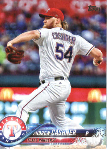 Photo of 2018 Topps #208 Andrew Cashner