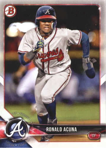 Photo of 2018 Bowman Prospects #BP1 Ronald Acuna