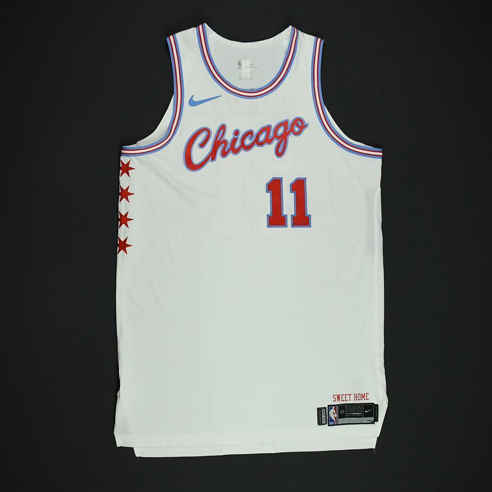 David Nwaba - Chicago Bulls - Game-Worn 'City' Jersey - 2017-18 Season