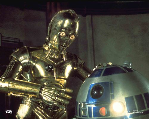 C-3PO and R2-D2