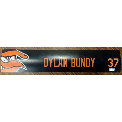 Photo of Dylan Bundy #37 - Locker Tag: Team-Issued