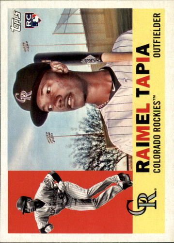 Photo of 2017 Topps Archives #22 Raimel Tapia Rookie Card