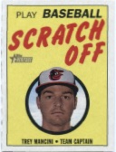 Photo of 2019 Topps Heritage '70 Topps Scratch Offs #17 Trey Mancini