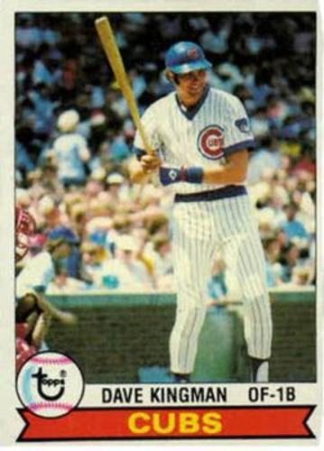 Photo of 1979 Topps #370 Dave Kingman