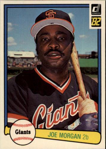 Photo of 1982 Donruss #312 Joe Morgan