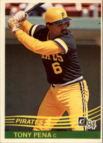 Photo of 1984 Donruss #186 Tony Pena