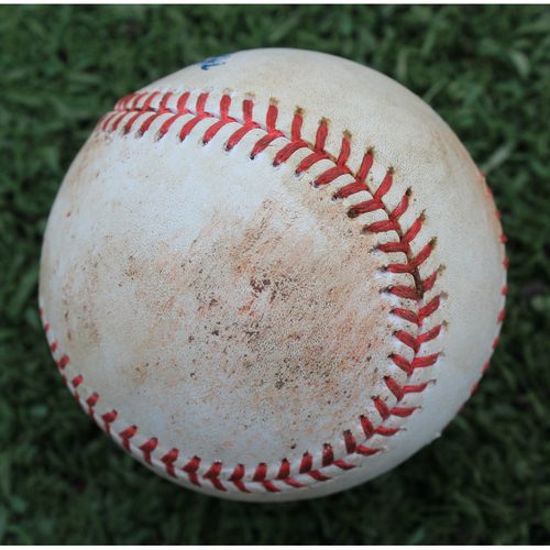 Photo of Game-Used Baseball: Hunter Dozier 177th Career Hit (TOR @ KC - 7/30/19)